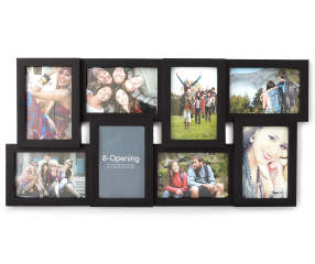 Black 8 Opening Collage Frame 4 Quot X 6 Quot Big Lots