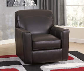 Signature Design By Ashley Apprentice Swivel Accent Chair