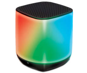 Polaroid Black Bluetooth 174 Color Changing Led Mini Speaker