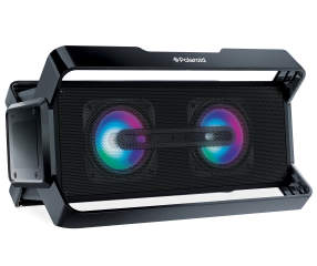 Polaroid Black Bluetooth 174 Led Boombox Speaker Big Lots