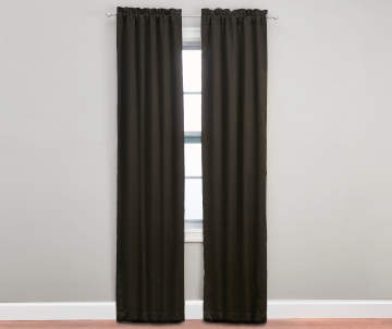 Curtains Ideas black and khaki curtains : Curtains, Rods & Hardware | Big Lots