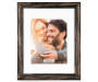 Black Distressed Frame 11 Inches by 14 Inches with Picture Silo Image