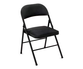 cosco padded fabric folding chair big lots. Black Bedroom Furniture Sets. Home Design Ideas