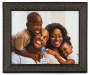 Black Moroccan Frame 8 Inches by 10 Inches with Picture Silo Image