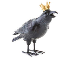 Crow With Gold Crown Big Lots