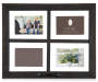 Black Window Pane Distressed Picture Frame Silo