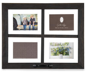 Black Window Pane Distressed Picture Frame Big Lots