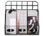 Black Wire Basket Cubby with Hooks with Items Overhead Shot Silo Image