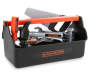Black and Decker Beginning Toy Tool Box 8 Pieces in Box Silo Image