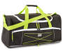 Black and Green Duffle Bag with Adjustable Strap Silo Image