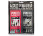 Black and Pink Talkbuds Stereo Earbuds 2-Pack In Package Silo