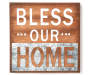 Bless Our Home Wooden Wall Plaque Silo