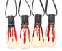 Bloody Edison Light Bulb Set, 10-Count