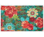 Blooming Floral Wyndham Indoor Outdoor Doormat silo front 18 inch x 30 inch silo front