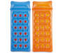 Blue & Orange Inflatable Pool Loungers, 2-Pack