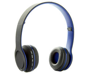 sentry blue bluetooth stereo headphones big lots. Black Bedroom Furniture Sets. Home Design Ideas