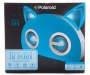 Blue Bluetooth Light-Up Cat Speaker Silo Front