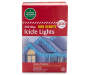 Blue High Density Icicle Lights 300 Count in Package Silo Image