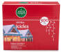 Blue Icicle Light Set 300 Count in Package Silo Image