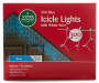 Blue Icicle Light Set 300-Count Silo Image In Package