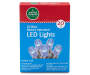 Blue LED Battery Operated Light Set 20 Count In Package Silo Image