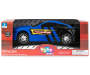 Blue Light and Sound Mustang Racing Car In Package Silo Image