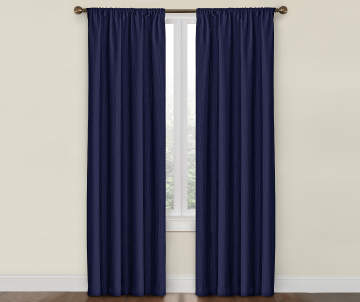 1500 - Blue And White Window Curtains