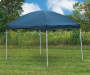 Blue Pop-Up Sun Shelter Outdoors
