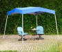 Blue Soft Top Pop Up Sunshelter lifestyle