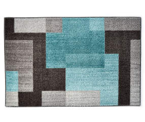 Living Colors Living Colors Brampton Aqua Accent Rugs