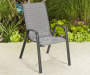 Brentwood Black Sling Patio Chair