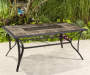 "Brentwood Tile Top Dining Table, (40"" x 64"")"
