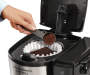 BrewStation 12 Cup Dispensing Coffeemaker silo top view with coffee prop