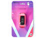 Brights Pink Fitness Tracker silo front in package