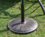 Bronze Concrete Umbrella Base lifestyle
