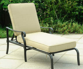 Chaise patio lounger with cushions big lots for Big lots chaise lounge cushions