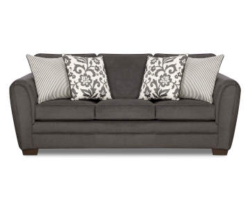 sofas living room furniture.  399 99 Simmons Flannel Charcoal Sofa Living Room Furniture Big Lots