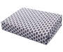 Charcoal Hexagon Diamond 4-Piece Twin Sheet Set Silo