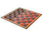 Chess Checker and Tic Tac Toe Game Set Silo Checkers
