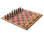 Chess Checker and Tic Tac Toe Game Set Silo Chess