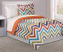 Chevron 6-Piece Twin Comforter Set Lifestyle Image