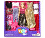 Chic Blonde Fashion Doll Set Silo In Package