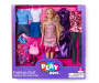 Chic Blonde Fashion Doll Set in Package Silo Image