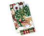 Christmas Deer Christmas Kitchen Towels 2 Pack Stacked and Fanned Silo Image