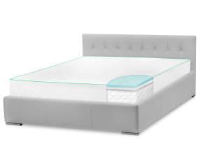 Zeopedic Classic 2 Quot Queen Gel Memory Foam Mattress Topper