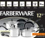 Classic Stainless Steel 12 Piece Cookware Set silo front package view