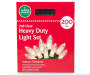Clear Heavy Duty Light Set 200 Count in Package Silo Image