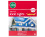 Clear Twinkling Icicle Lights 200 Count in Package Silo Image