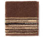 Coffee Stripes Mirage Wash Cloth silo front