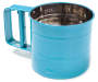 Cookworks Blue 3-Cup Flour Sifter Silo